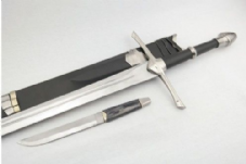 LOTR Strider Sword, Sheath & Dagger